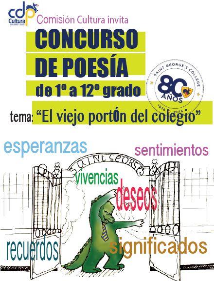 Participa en el concurso de poesía de la Fiesta de la Cultura 2016