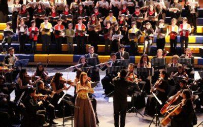 Concierto ECCE COR MEUM fue visto por más de 1.200 personas