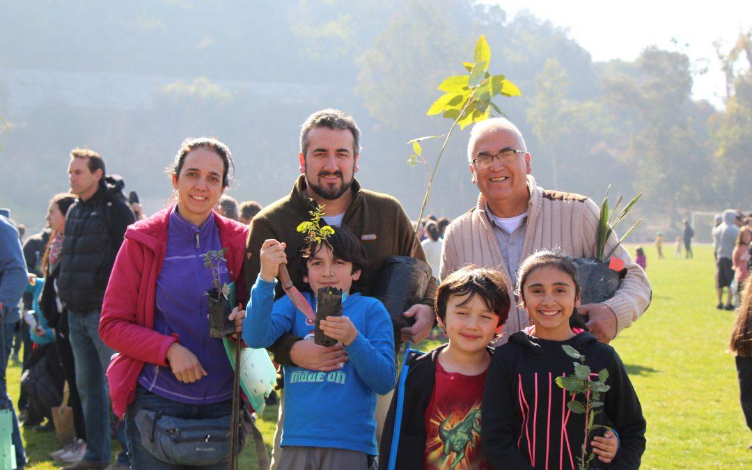 1.250 nuevos árboles para el cerro del colegio