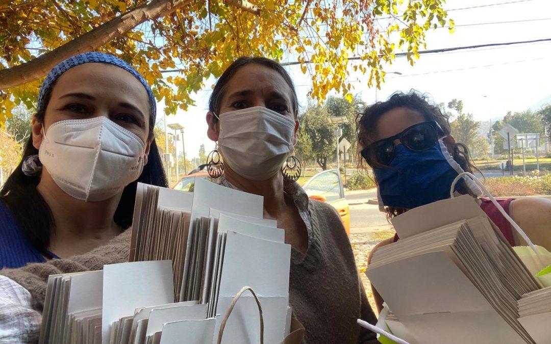 Alumnos y apoderados se la juegan ayudando a personal de salud del JJ Aguirre