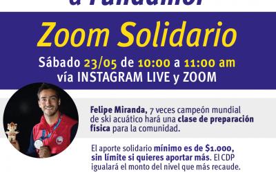 Ayudemos a Fundamor con Zoom Deportivo con Felipe Miranda