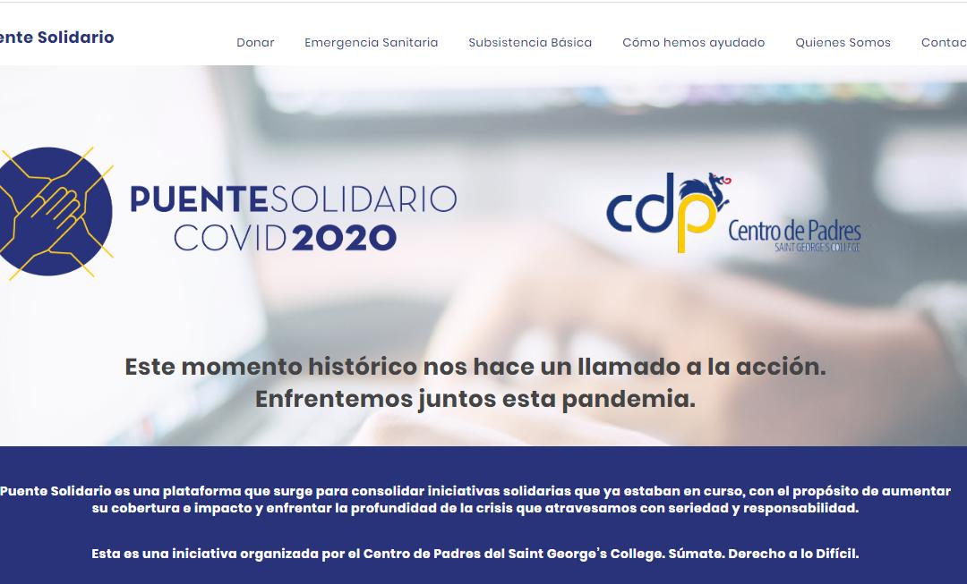 CDP crea Puente Solidario, plataforma solidaria virtual