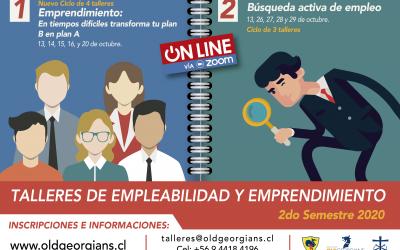 Inscríbete en los Talleres de Empleabilidad y Emprendimiento