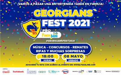 ¡Participa junto a tu familia en el Georgians' Fest 2021 a beneficio de Fundamor!