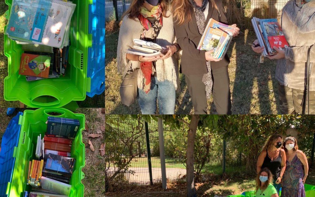Feria Libro x Libro, un éxito: 550 libros encontraron una nueva familia