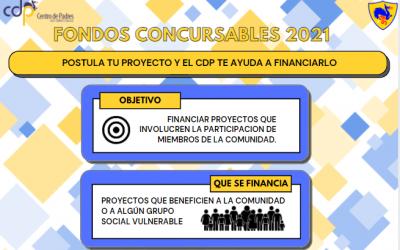 Participa en los Fondos Concursables del CDP y financia un proyecto para ayudar a la comunidad
